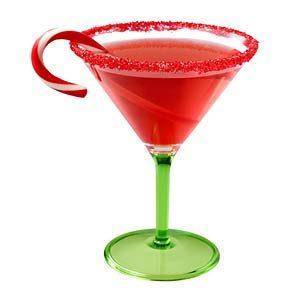 1. Servez de la vodka à la canne de Noël