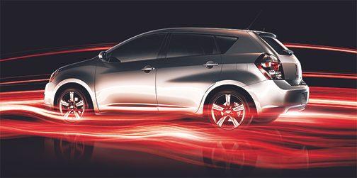 La Pontiac Vibe, une voiture usagée abordable