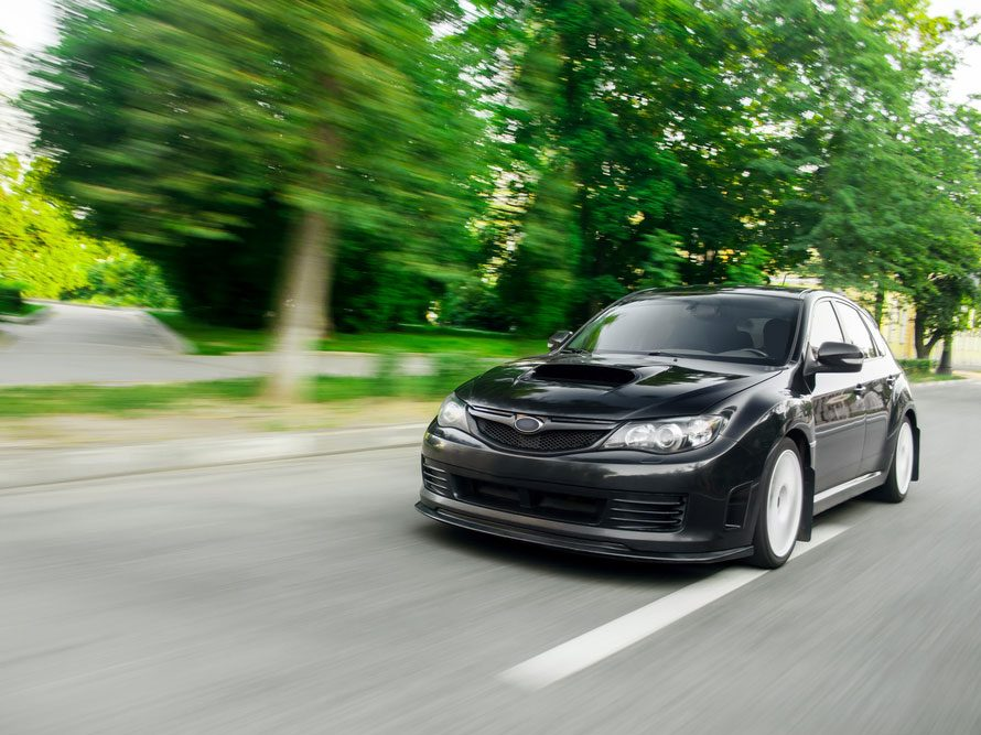 La fougueuse Subaru Impreza usagée