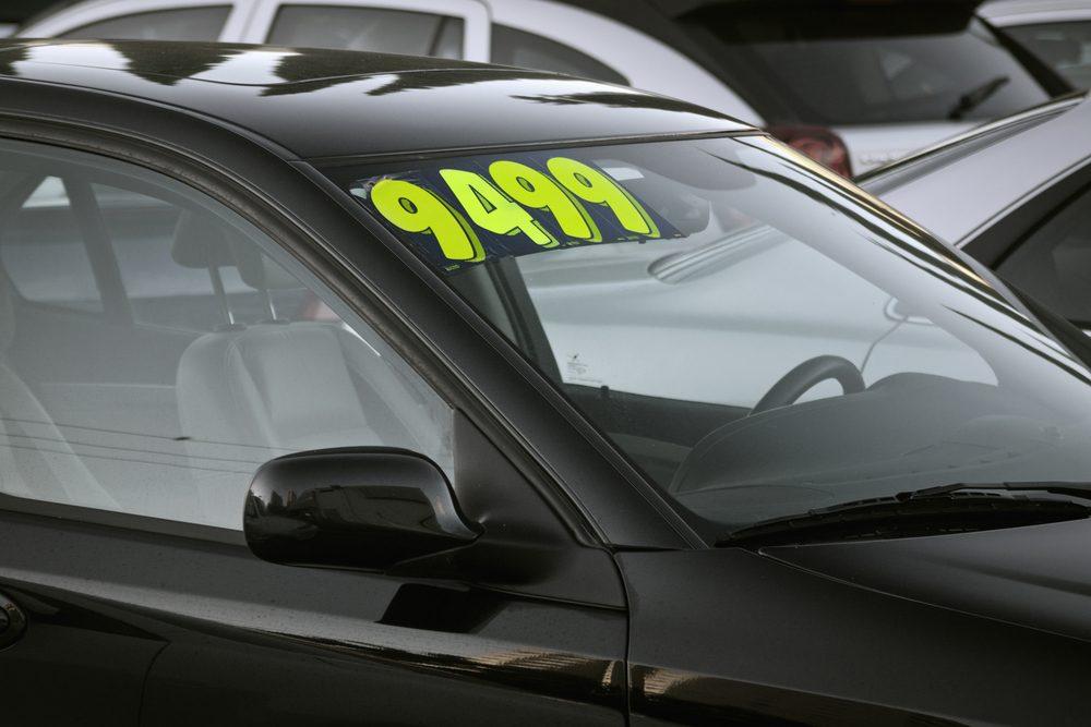 Avantage #10 : Vous ne paierez pas de frais additionnels pour une voiture usagée