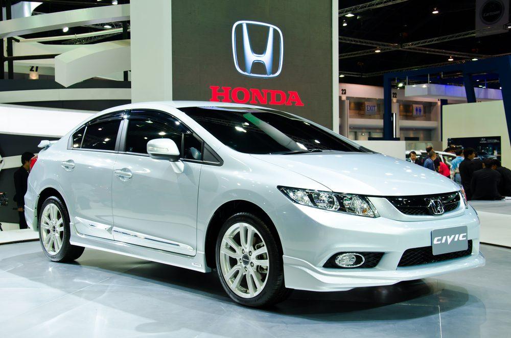 Voitures les plus volées au Canada : Honda Civic à deux portes 2000