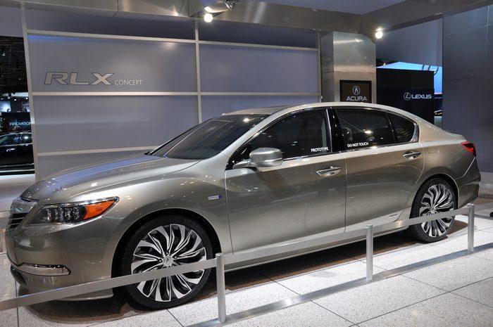 L'Acura, l'une des voitures les plus volées en Ontario