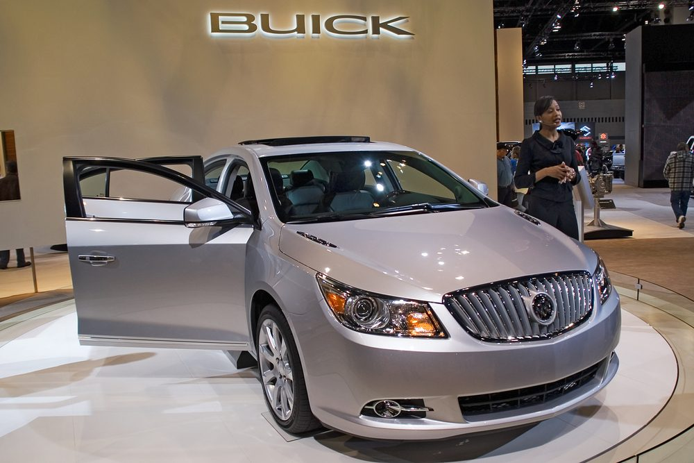 La Buick Enclave 2010 s'ajoute à la liste des voitures les plus volées d'Alberta