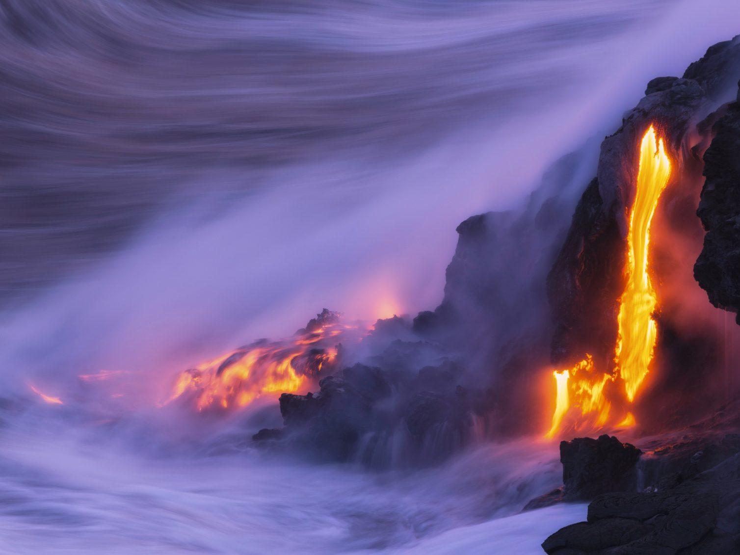 2. Il y a régulièrement des éruptions