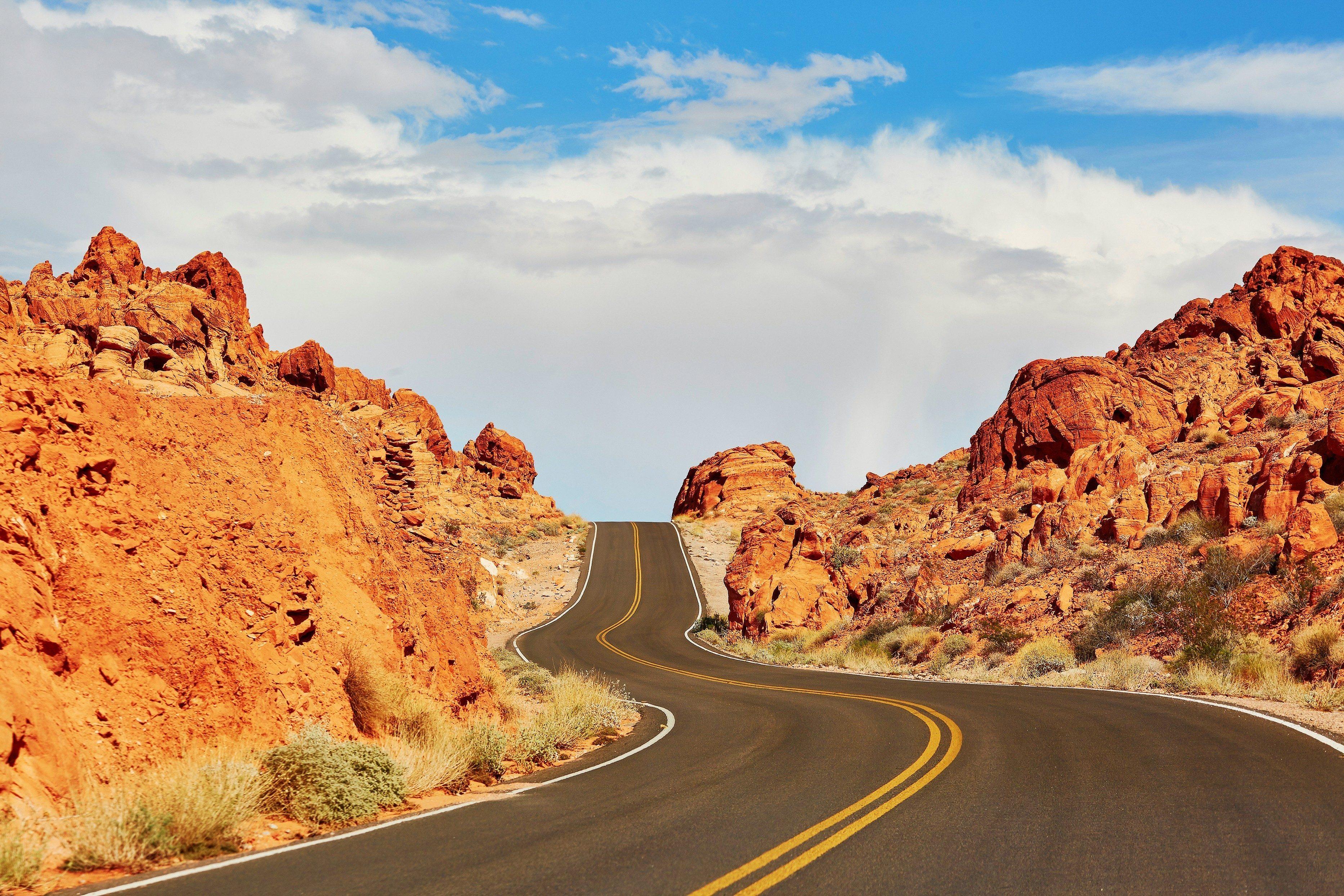 1. La Vallée de Feu: une attraction touristique à proximité de Las Vegas