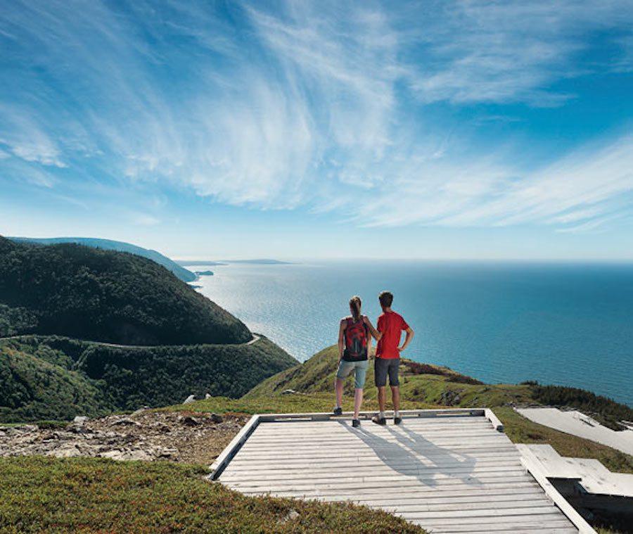Le parc national des Haute-Terres-du-Cap-Breton en Nouvelle-Écosse