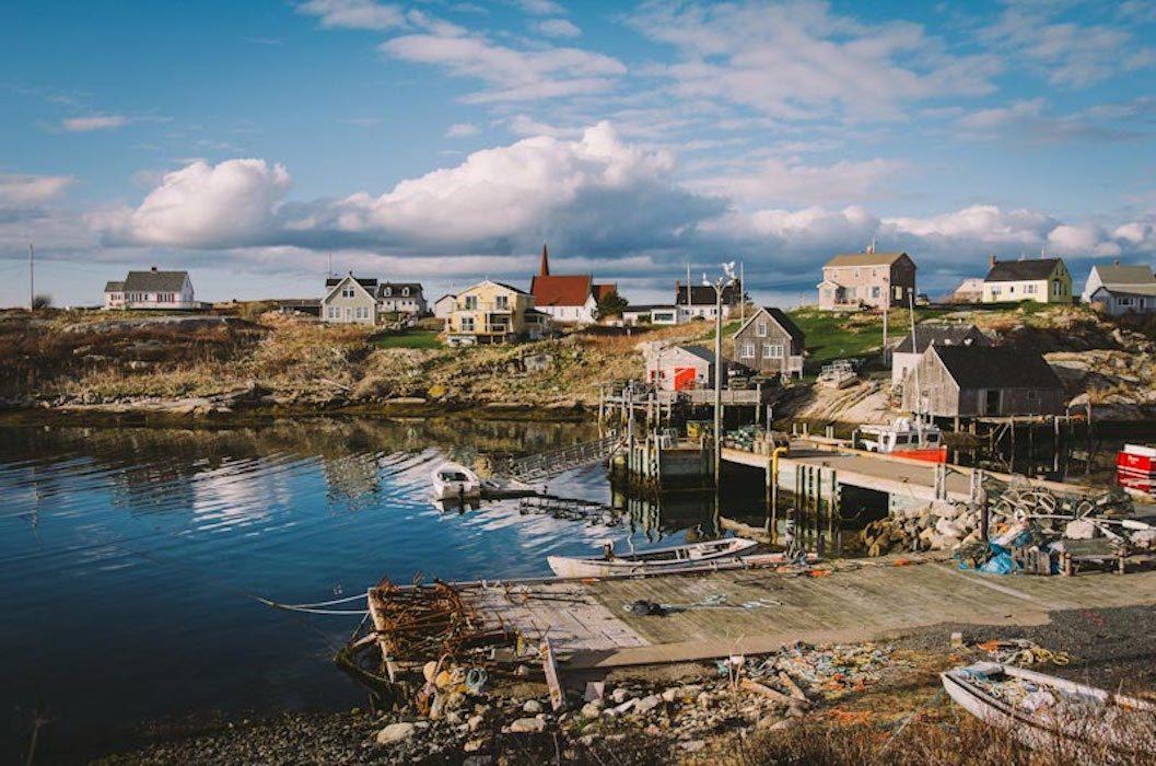 Peggy's Cove en Nouvelle-Écosse