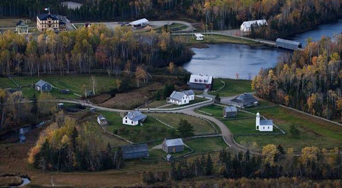 Village historique acadien au Nouveau-Brunswick