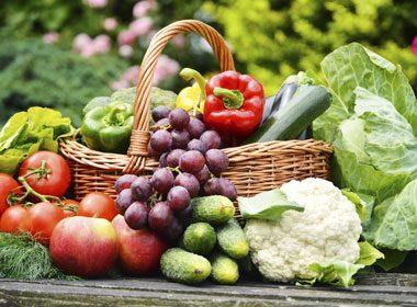 Meilleur choix: De vrais fruits et légumes