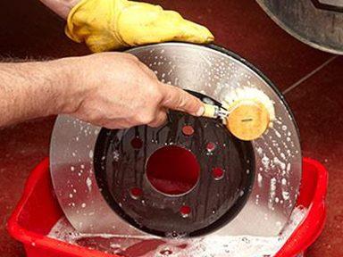 Laver le rotor