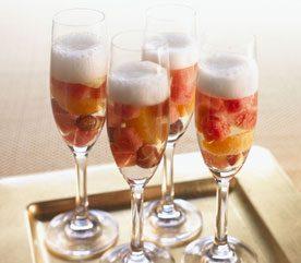 8. Sangria au melon d'eau et au champagne