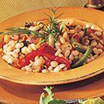 Sauté de haricots blancs aux petits légumes