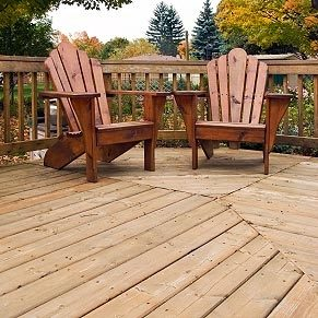 Ne peignez pas le bois de votre terrasse