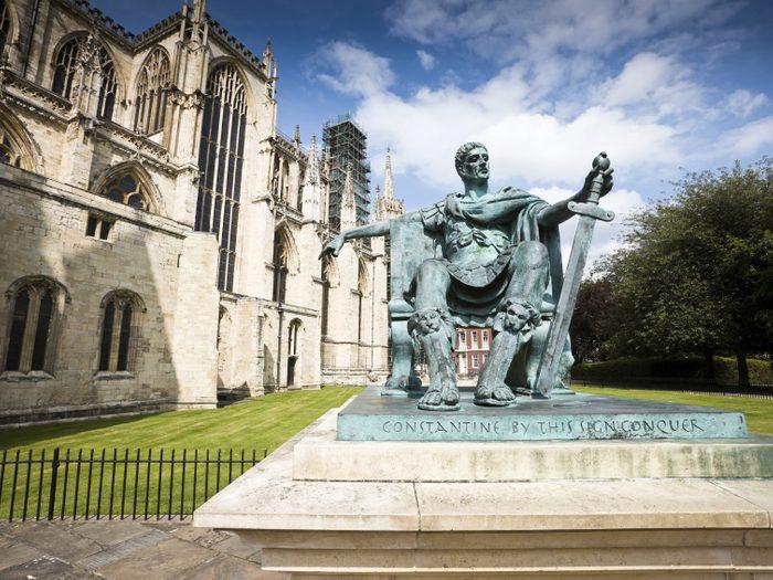 10. York Minster, Angleterre