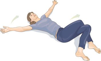 Maux de dos les 10 meilleurs rem des et tirements efficaces - Causes des vertiges en position couchee ...
