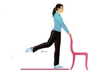 3. Hanches: extensions de ballet redressées