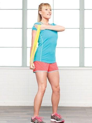 Traction vers le bas pour les triceps: 2 minutes