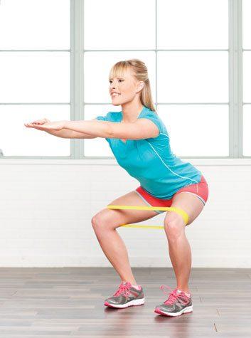 Ouverture des hanches en position accroupie: 2 minutes