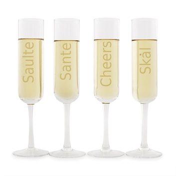 Flûtes à champagne de Indigo