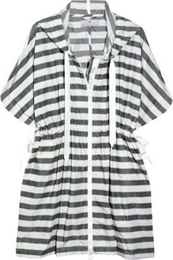 Veste à capuche en polyester Adidas par Stella McCartney