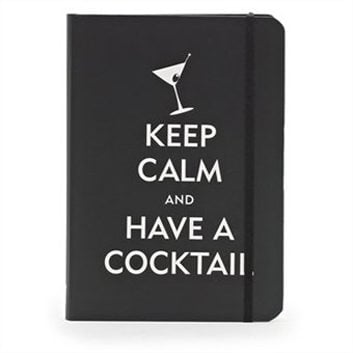 Journal personnel «Keep Calm and Have a Cocktail» de Wild & Wolf