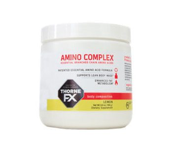 Amino complex Thorne FX (65 $, 198 g; 1-866-255-1933)