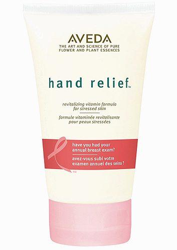 2. Crème apaisante pour les mains Aveda, Édition Limitée Pink Ribbon