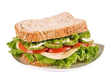 Sandwich B.L.T. végétarien