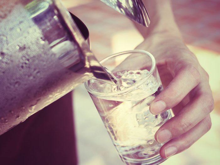 Pas assez d'eau