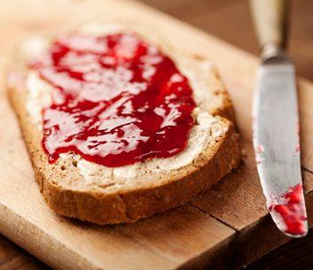 Confiture de fraises légère
