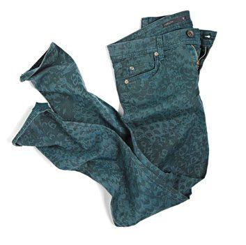 Le jean à motifs