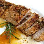 Filet de porc mariné au soja
