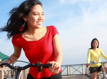 2. Le vélo vous permet de brûler des tonnes de calories.