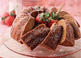 Gâteau à la courge poivrée parfumé au rye