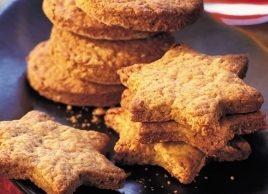 Biscuits aux noix et au gingembre