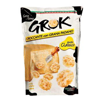 Croustilles au fromage goût classique de Grok
