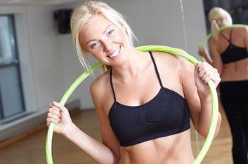 9. Hula-hoop