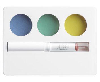 La palette pour les yeux et les lèvres teintes rétro, de Joe Fresh