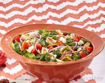 Salade de chou vert