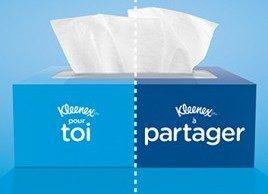 Partager ses Kleenex...pas son rhume!