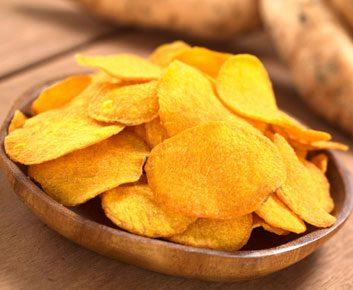 Croustilles de patates douces