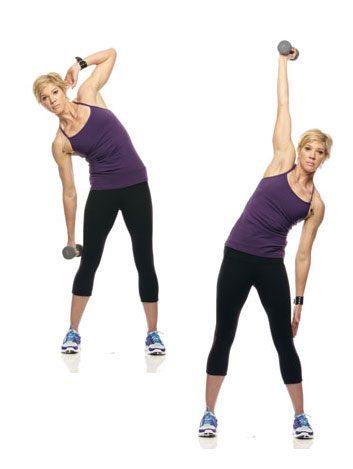 4. Flexion latérale du tronc