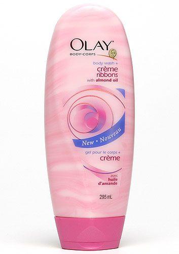 3. Gel et crème pour le corps Ribbons de Olay