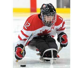 Hockey sur luge : Greg Westlake