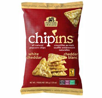 Chip'Ins au cheddar blanc de Popcorn Indiana