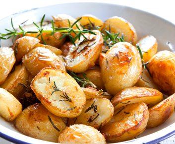 Sauter des pommes de terre