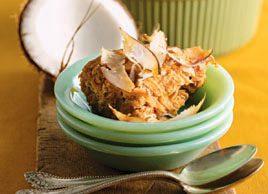 Pouding de patates douces à la noix de coco
