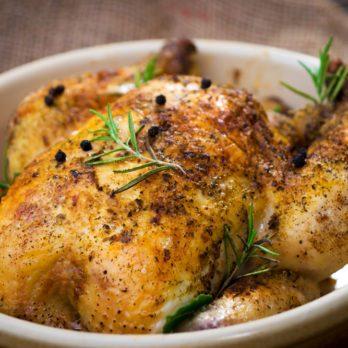 Recette de poulet de Cornouailles aux herbes