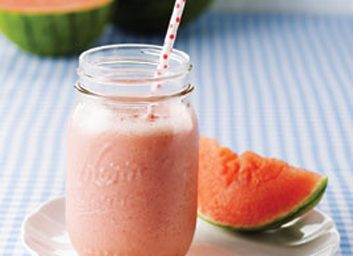 Smoothie au melon d'eau