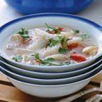 Soupe expresse de poisson, tomate et fenouil